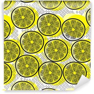 Papiers peints à motifs Citrons • Pixers® - Nous vivons pour changer