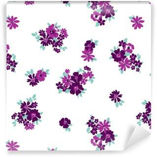 Motif de fleurs sans soudure de papier peint