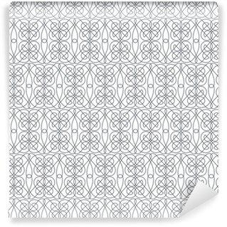Motif sans soudure abstrait géométrique. arrière-plan de motif linéaire. mo