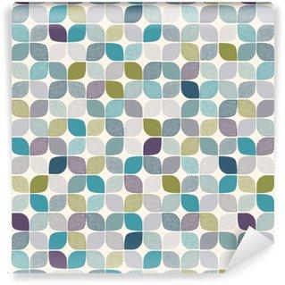 Papier peint lavable sur mesure Seamless dots abstract