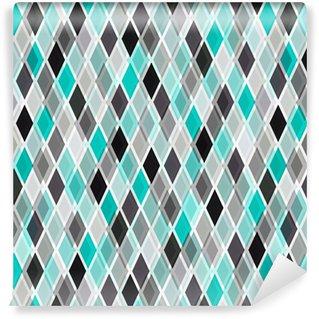 Papier peint lavable sur mesure Turquoise vecteur de fond brillant