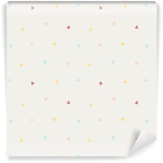 Papier peint vinyle sur mesure Modèle de triangle vectorielle continue
