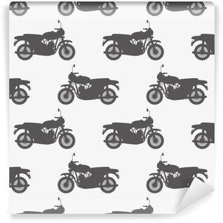 Papier peint vinyle sur mesure Motocyclettes