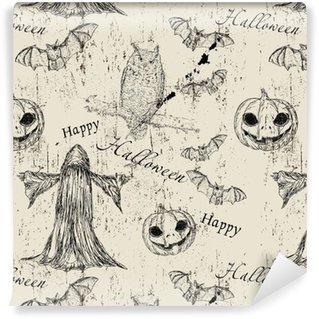 Papier peint vinyle sur mesure Texture transparente d'halloween