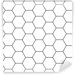 papiers peints motifs hexagone pixers nous vivons. Black Bedroom Furniture Sets. Home Design Ideas