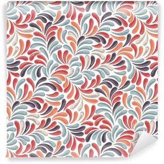 Abstract Colorful Pattern Self-adhesive Custom-made Wallpaper