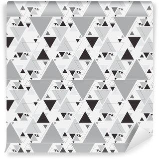 Abstract Triangle Seamless Pattern. Triangle pattern background Self-adhesive Custom-made Wallpaper
