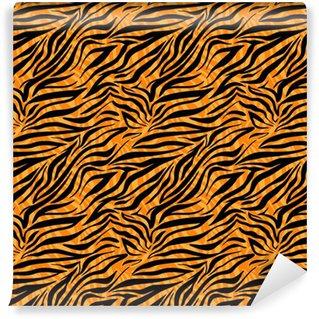 Fashion tiger seamless pattern Self-adhesive custom-made wallpaper
