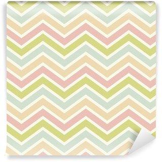 seamless chevron pattern Self-adhesive Custom-made Wallpaper