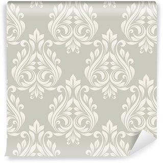 Seamless damask pattern. Self-adhesive custom-made wallpaper
