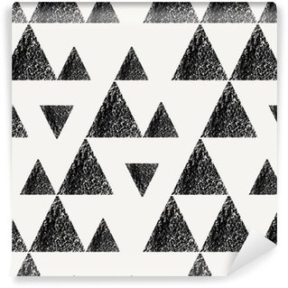 Triangles Seamless Pattern Self-adhesive Custom-made Wallpaper