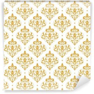 Vintage seamless pattern. Self-adhesive custom-made wallpaper
