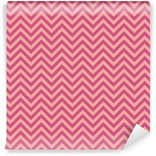 Zigzag seamless pattern Self-adhesive custom-made wallpaper