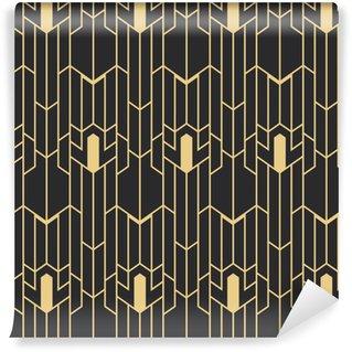 Vinyltapete nach Maß Abstrakte Art Deco nahtlose Muster