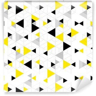 b8cb75cc Spesialtilpasset vinyltapet Geometrisk mønster bakgrunn