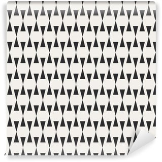 Måttanpassad vinyltapet Seamless geometriskt mönster