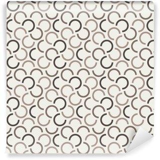Måttanpassad vinyltapet Upprepande geometriska sömlösa mönster. vektor illustration.