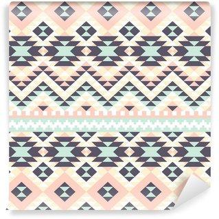 Vinylová Tapeta Bezešvé pettern abstraktní etnické ornament
