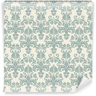 Vinylová Tapeta Bezešvé vektorové květinové tapety barokní styl vzoru