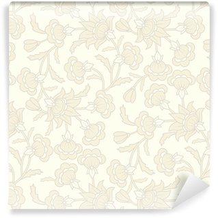 Tapeta winylowa Deseń bez szwu tapety z kwiatu elementów.