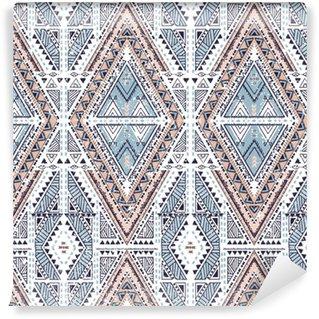 Vinylová Tapeta Etnický geometrický vzor, kmenové bezproblémové pozadí