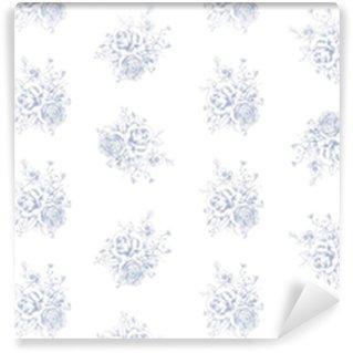 Vinylová Tapeta Grafický květinový bezešvé vzor 1