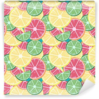 Vinylová Tapeta Grapefruit vápno citron