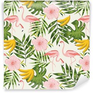 Vinylová Tapeta Krásné bezešvé vzor s letní květiny.