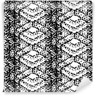 Vinylová Tapeta Pointilismus styl bezešvé vzor