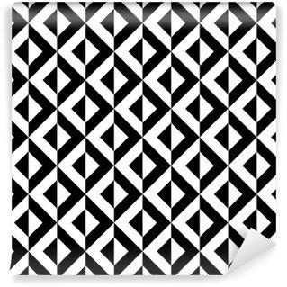 Abstrakt geometrisk mønster Vaskbare Tapet