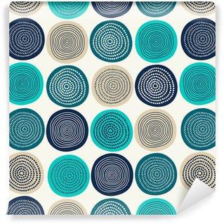 Abstrakt mønster Vaskbare Tapet