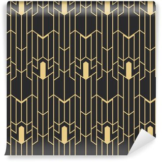 Abstract art deco seamless pattern Vinyl custom-made wallpaper