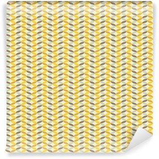 abstract retro geometric pattern Vinyl Wallpaper