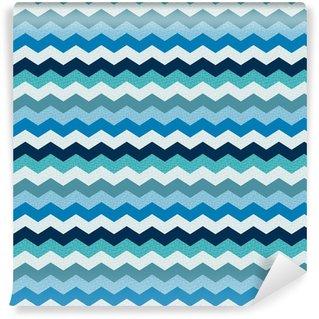 seamless abstract chevron textured background Vinyl custom-made wallpaper