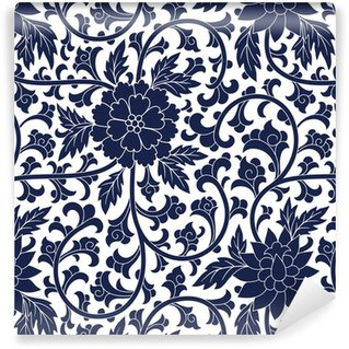 Seamless chinese pattern Vinyl Custom-made Wallpaper