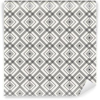 seamless geometric pattern Vinyl Custom-made Wallpaper