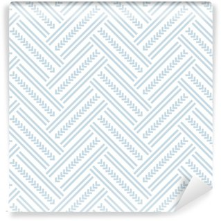 Seamless herringbone pattern. Vinyl custom-made wallpaper