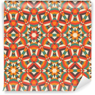 Seamless mosaic pattern. Vinyl Wallpaper