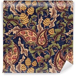 Victorian seamless pattern Vinyl Wallpaper