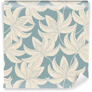 Vintage gentle pattern Vinyl Wallpaper