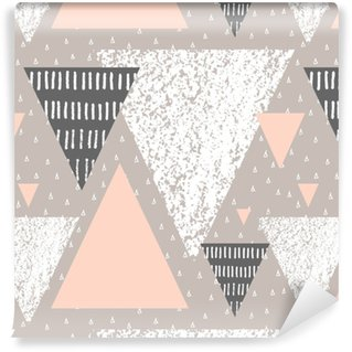 Abstract Geometric Pattern Washable Wallpaper