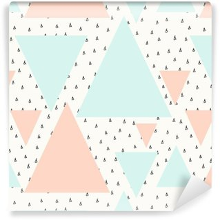 Abstract Geometric Pattern Washable custom-made wallpaper