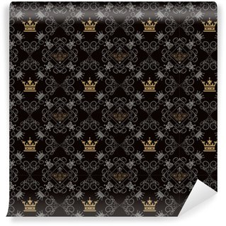 Royal Background, Seamless Pattern Washable custom-made wallpaper