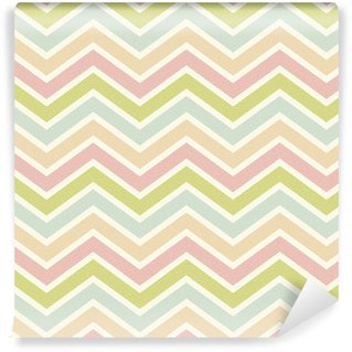 seamless chevron pattern Washable Custom-made Wallpaper