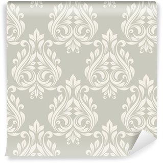 Seamless damask pattern. Washable custom-made wallpaper