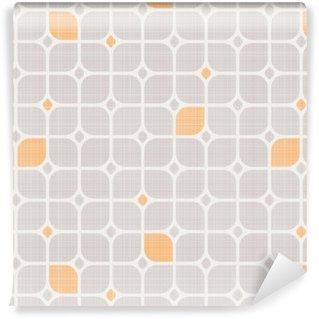 seamless geometric pattern Washable custom-made wallpaper