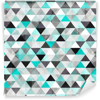 turquoise shiny vector background Washable Wallpaper