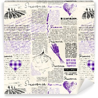 Vintage grunge pattern Washable Custom-made Wallpaper