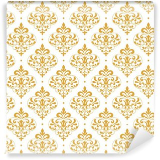 Vintage seamless pattern. Washable Custom-made Wallpaper