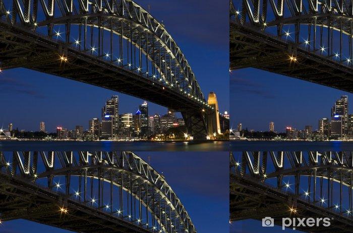 Vinyl Behang De iconische Harbour Bridge in Sydney, Australië - Thema's